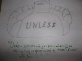 Unless - Dr. Suess by melfurny