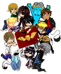 AA: group colab: BOYS :DONE: by Ch4rm3d