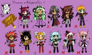 Demon Adoptables OPEN NEW UPDATES by AeternaAdoptables