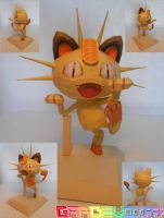 Release : Meowth Papercraft by gardevoir7