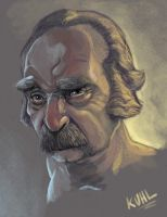 Old Dude by chriskuhlmann
