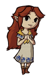 Wind Waker Malon by Decapitated-Kittens