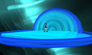 MMD Blue Stage DL by MMDFakewings18