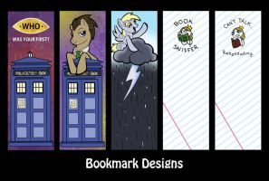 Bookmarks 2 by SurlyQueen