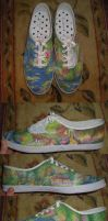YAY Monet - shoes by madeleinedemontreal
