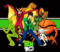 Ben 10 Alien Force by nuke-no-jutsu