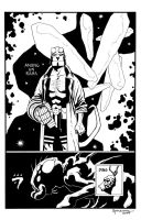 Cody Hellboy Jam Inks by scottygod