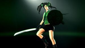 Green Scout Shooter by PsychoLinChan