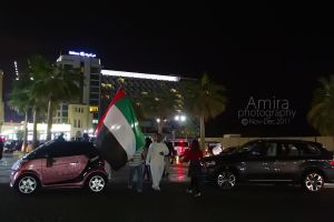 JBR the Walk night 2 by amirajuli