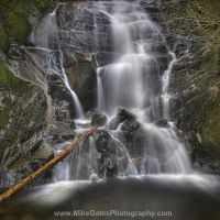 Waterfall by Muskeg