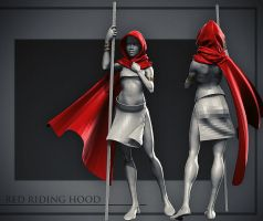 Red Riding Hood by DuncanFraser