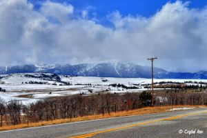 Road to Beartooth Mountains by CrystalAnnPhotos