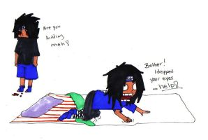 Madara: Brother HELP by thegeekpit