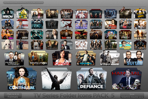 Pack 5 - TV Series Folder Icons by atty12