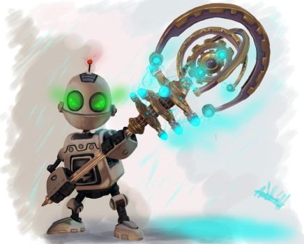 Clank (practise) by MeLiNaHTheMixed