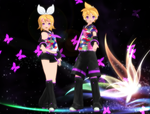 MMD Len Rin Tell Your World DL by MANAKH