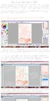How to Draw Comic Panels in SAI by ClefdeSoll