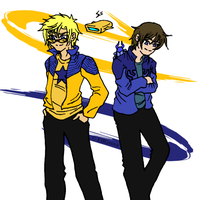 Smallville: Blue and Gold by elfgrove