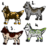 MOAR ADOPTABLES by Tanchie97