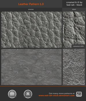 Leather Pattern 1.0 by Sed-rah-Stock