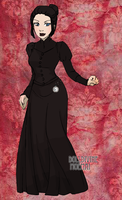 Genderbent Ainley Victorian by InvaderJes11