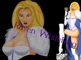 White Queen Close Up by RavenWhitefang