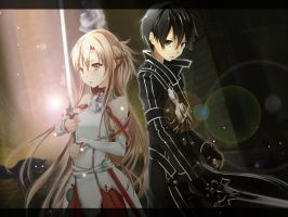sword art online by witchxox
