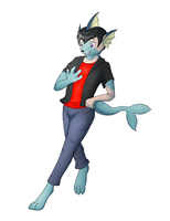 Vaporeon tf (YCH Auction) by Tomek1000