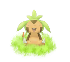 Chespin! by ZiiaChan