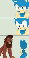 Animated Comic 4~Mobian and Lion~ by Xbox-DS-Gameboy