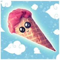 Cute Ice-cream by KatkoOota