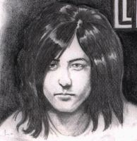 Jimmy Page Portrait by shuranegro