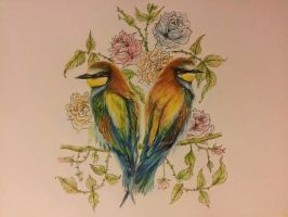 Love Birds, 2013 by AimeeHutchinson