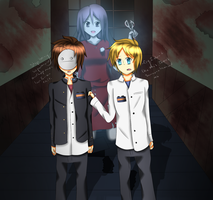 PewDieCry- Corpse Party by Shadiclover