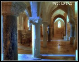 OSIMO (AN)-THE CRYPT OF THE CATHEDRAL by MarcoLorenzetti