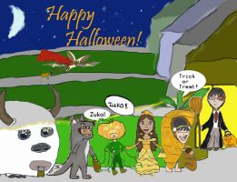 Avatar Dressed for Halloween by pinksy456