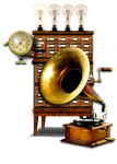 Steampunk Itunes Icon by yereverluvinuncleber