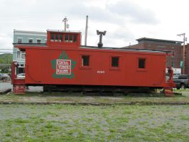 Central Vermont Caboose by 914four