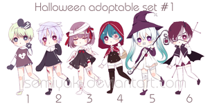 [OPEN] Halloween Adoptable Auction #1 by Isemiyaki