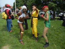 Anime North 2012 - Street Fighter Cosplay by jmcclare