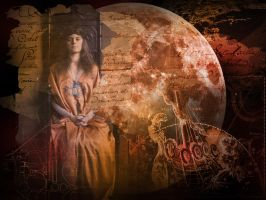 Daughter of the full moon by GDow