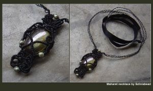 Maharet necklace by bodaszilvia