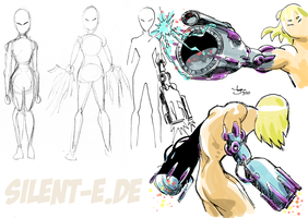 Beachhead - Cannon sketches by Abt-Nihil