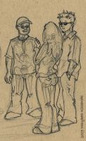 Three figures by supercrazzy