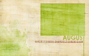 Free August Wallpaper 2009 by ZachWoomer