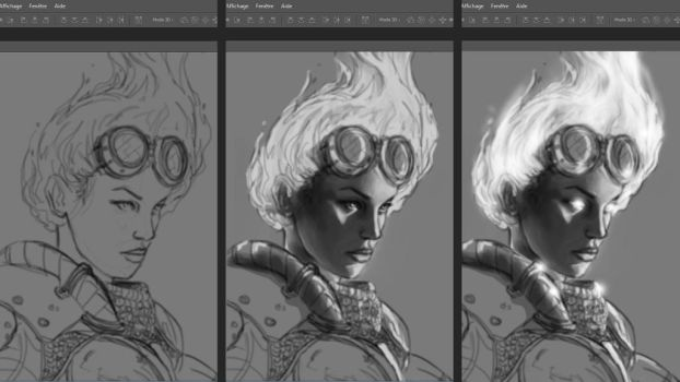 Chandra Wip by CyrilT