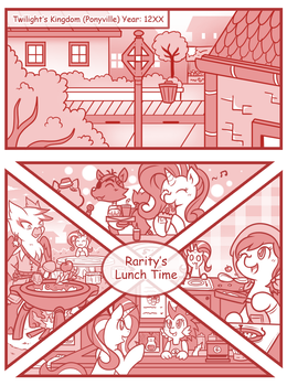 Chaos Future 76 : Lunch Time by vavacung