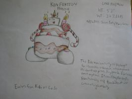 Fake Pokemon--Konfektion by locomotive111
