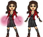 Avengers Scarlet Witch Micros by Ragnbogenn