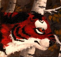 Mini October Painting by Octobertiger